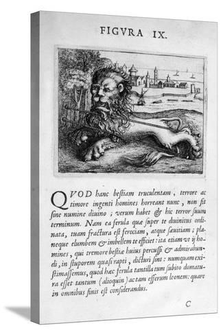 Prophecy Figure IX from Prognosticatio Eximii Doctoris Paracelsi, 1536-Theophrastus Bombastus von Hohenheim Paracelsus-Stretched Canvas Print