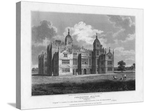 Charlton House, Wiltshire, 1808-S Sparrow-Stretched Canvas Print