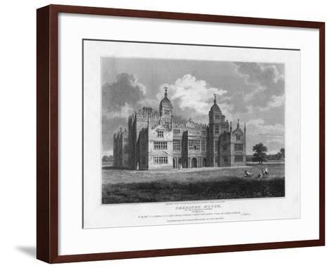 Charlton House, Wiltshire, 1808-S Sparrow-Framed Art Print