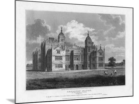 Charlton House, Wiltshire, 1808-S Sparrow-Mounted Giclee Print