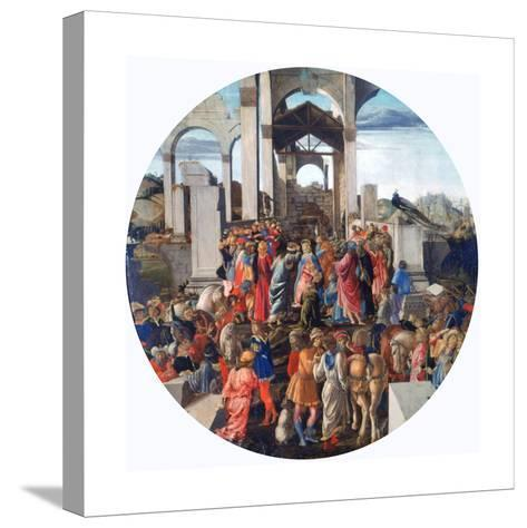 The Adoration of the Kings, C1470-1475-Sandro Botticelli-Stretched Canvas Print