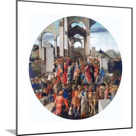 The Adoration of the Kings, C1470-1475-Sandro Botticelli-Mounted Giclee Print