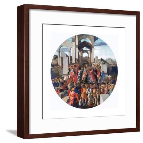 The Adoration of the Kings, C1470-1475-Sandro Botticelli-Framed Art Print