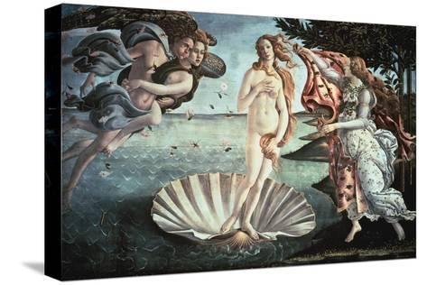 The Birth of Venus, C1482-Sandro Botticelli-Stretched Canvas Print