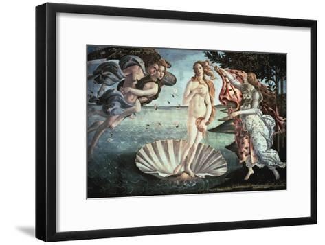 The Birth of Venus, C1482-Sandro Botticelli-Framed Art Print