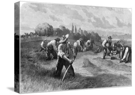 Haymaker, 1875-W Hollidge-Stretched Canvas Print