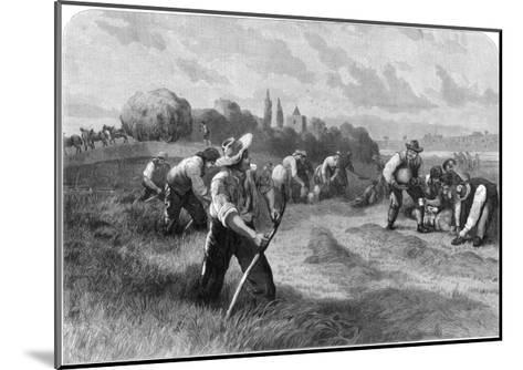 Haymaker, 1875-W Hollidge-Mounted Giclee Print