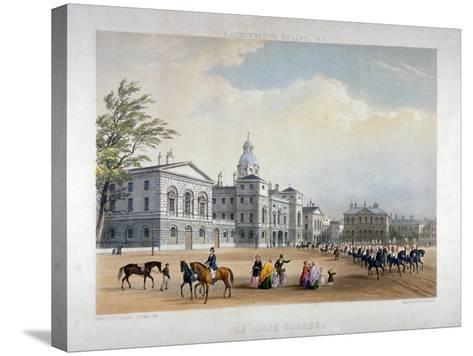 Horse Guards, Westminster, London, 1851-Thomas Picken-Stretched Canvas Print