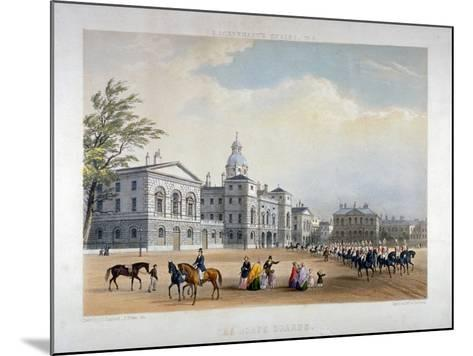 Horse Guards, Westminster, London, 1851-Thomas Picken-Mounted Giclee Print