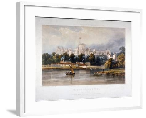 Windsor Castle, Berkshire, 1851-Thomas Picken-Framed Art Print