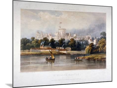 Windsor Castle, Berkshire, 1851-Thomas Picken-Mounted Giclee Print