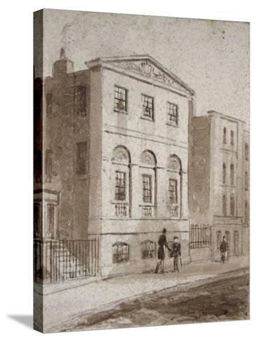 Cordwainers' Hall, Distaff Lane, City of London, 1832-Thomas Hosmer Shepherd-Stretched Canvas Print