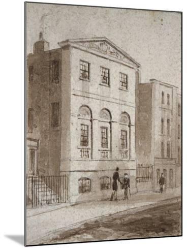 Cordwainers' Hall, Distaff Lane, City of London, 1832-Thomas Hosmer Shepherd-Mounted Giclee Print