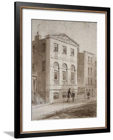Cordwainers' Hall, Distaff Lane, City of London, 1832-Thomas Hosmer Shepherd-Framed Art Print