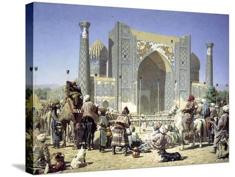 They are Triumphant, C1871-C1872-Vasily Vereshchagin-Stretched Canvas Print
