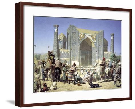 They are Triumphant, C1871-C1872-Vasily Vereshchagin-Framed Art Print