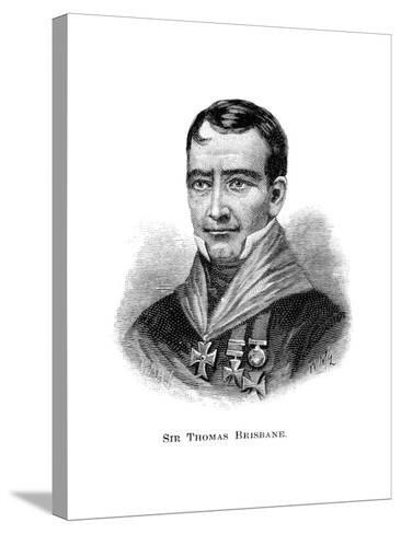 Sir Thomas Brisbane, British Soldier, Colonial Governor and Astronomer-W Macleod-Stretched Canvas Print