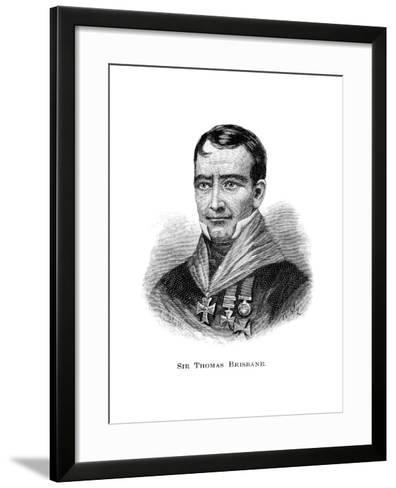 Sir Thomas Brisbane, British Soldier, Colonial Governor and Astronomer-W Macleod-Framed Art Print