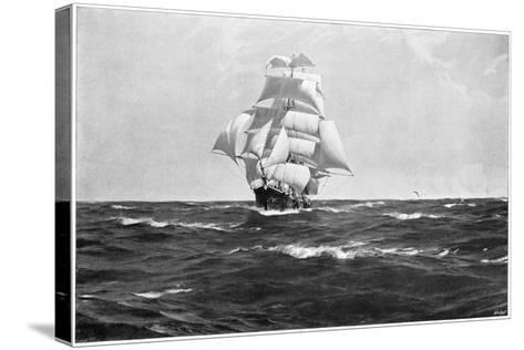 Homeward Bound, 1903-Thomas J Somerscales-Stretched Canvas Print