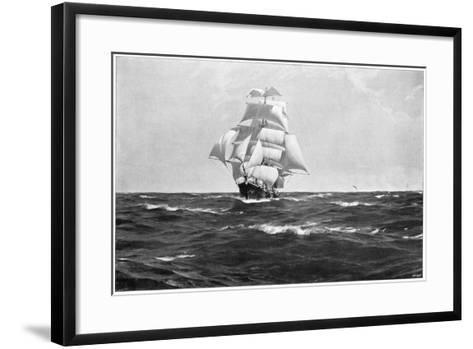Homeward Bound, 1903-Thomas J Somerscales-Framed Art Print