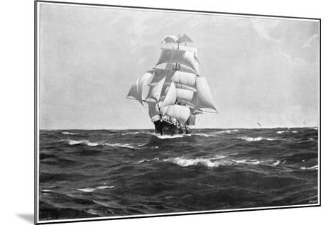 Homeward Bound, 1903-Thomas J Somerscales-Mounted Giclee Print