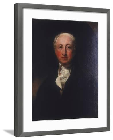 George Dance the Younger, 1798-Thomas Lawrence-Framed Art Print