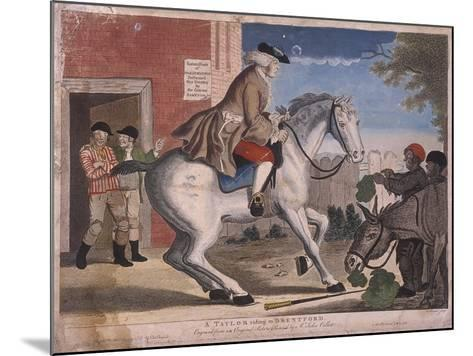 A Taylor Riding to Brentford, 1786-TS Stayner-Mounted Giclee Print