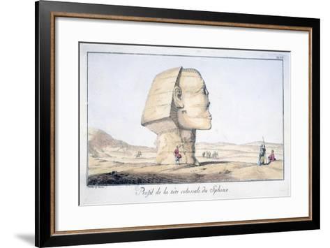 Great Sphinx Head in Profile, 18th Century-Tuscher Hafniae-Framed Art Print