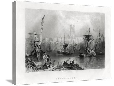 Gloucester, England, 19th Century-W Mossman-Stretched Canvas Print