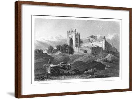 Futtypore Sicri, India, C1860-W Brandard-Framed Art Print
