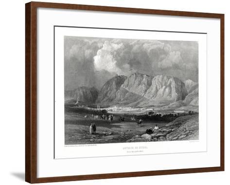 Antioch, Syria, 19th Century-W Miller-Framed Art Print