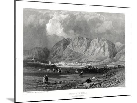 Antioch, Syria, 19th Century-W Miller-Mounted Giclee Print