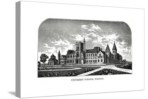 University College, Toronto, Canada, 19th Century-Tilton Waters-Stretched Canvas Print