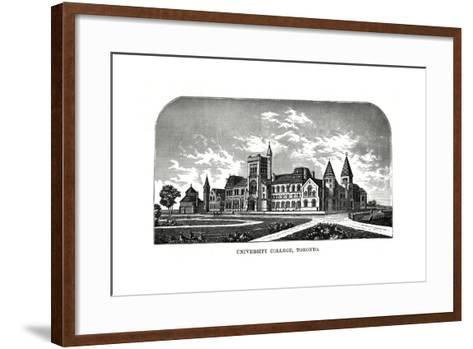 University College, Toronto, Canada, 19th Century-Tilton Waters-Framed Art Print