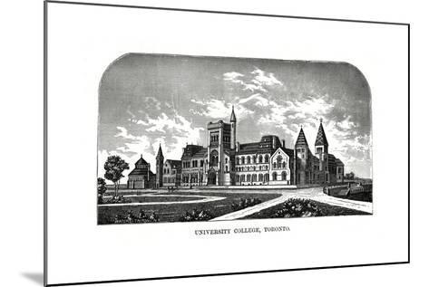 University College, Toronto, Canada, 19th Century-Tilton Waters-Mounted Giclee Print