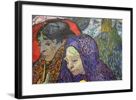 Memory of the Garden at Etten (Ladies of Arle), 1888-Vincent van Gogh-Framed Art Print