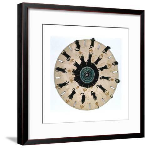 Fantascope Disc, 1833-Thomas Mann Baynes-Framed Art Print