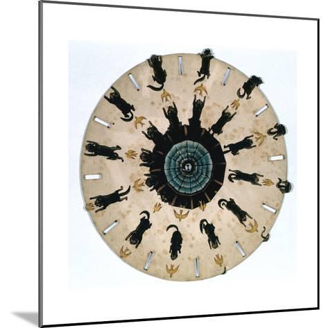 Fantascope Disc, 1833-Thomas Mann Baynes-Mounted Giclee Print