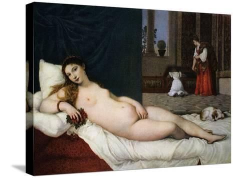 Venus of Urbino, C1538-Titian (Tiziano Vecelli)-Stretched Canvas Print