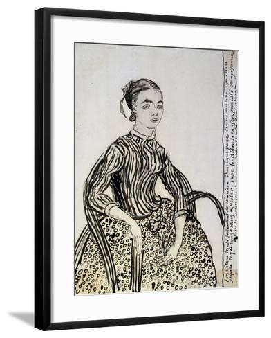 Portrait of a Young Lady (La Mousm), 1888-Vincent van Gogh-Framed Art Print