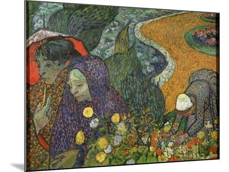 Ladies of Arles (Memory of the Garden at Ette), 1888-Vincent van Gogh-Mounted Giclee Print