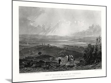 Sea of Galilee or Lake of Tiberias, 1887-W Richardson-Mounted Giclee Print