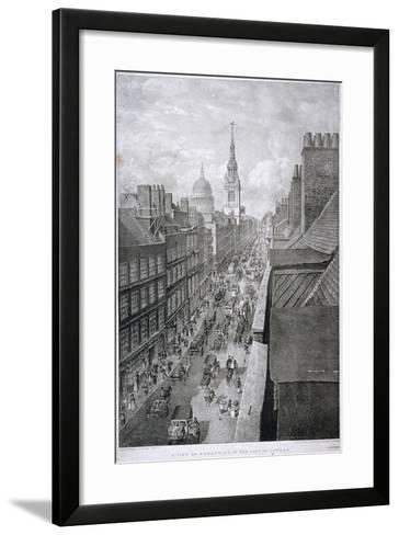 Cheapside, London, 1823-Thomas Mann Baynes-Framed Art Print