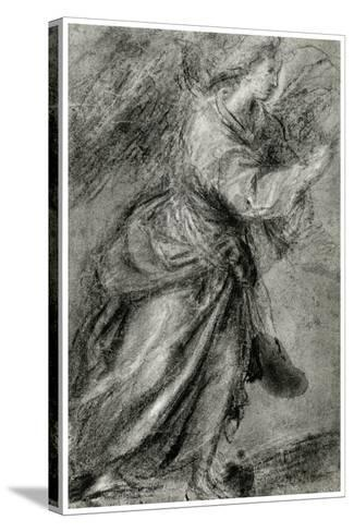 Angel of the Annunciation, C1565-Titian (Tiziano Vecelli)-Stretched Canvas Print