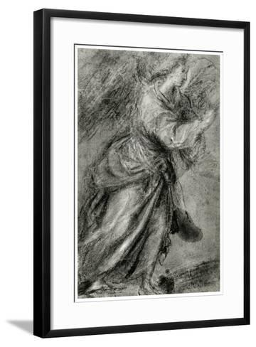 Angel of the Annunciation, C1565-Titian (Tiziano Vecelli)-Framed Art Print