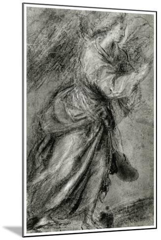 Angel of the Annunciation, C1565-Titian (Tiziano Vecelli)-Mounted Giclee Print