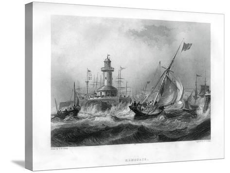 Ramsgate, Kent, 1886-W Finden-Stretched Canvas Print