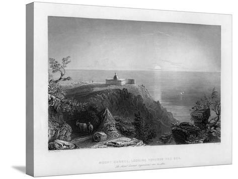 Looking Out to Sea from Mount Carmel, Israel, 1841-W Floyd-Stretched Canvas Print