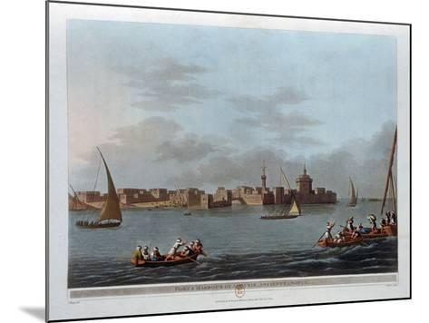 Fort and Harbour of Aboukir, Ancient Canopus, Egypt, 1801-Thomas Milton-Mounted Giclee Print