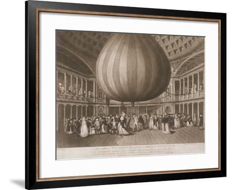The Interior of the Pantheon, Oxford Street, London, 1785-Valentine Green-Framed Art Print